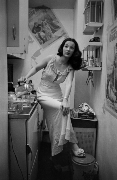 "Rosemary Williams — Showgirl,"" 1948"