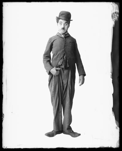 Charles Chaplin as the Trap_1915