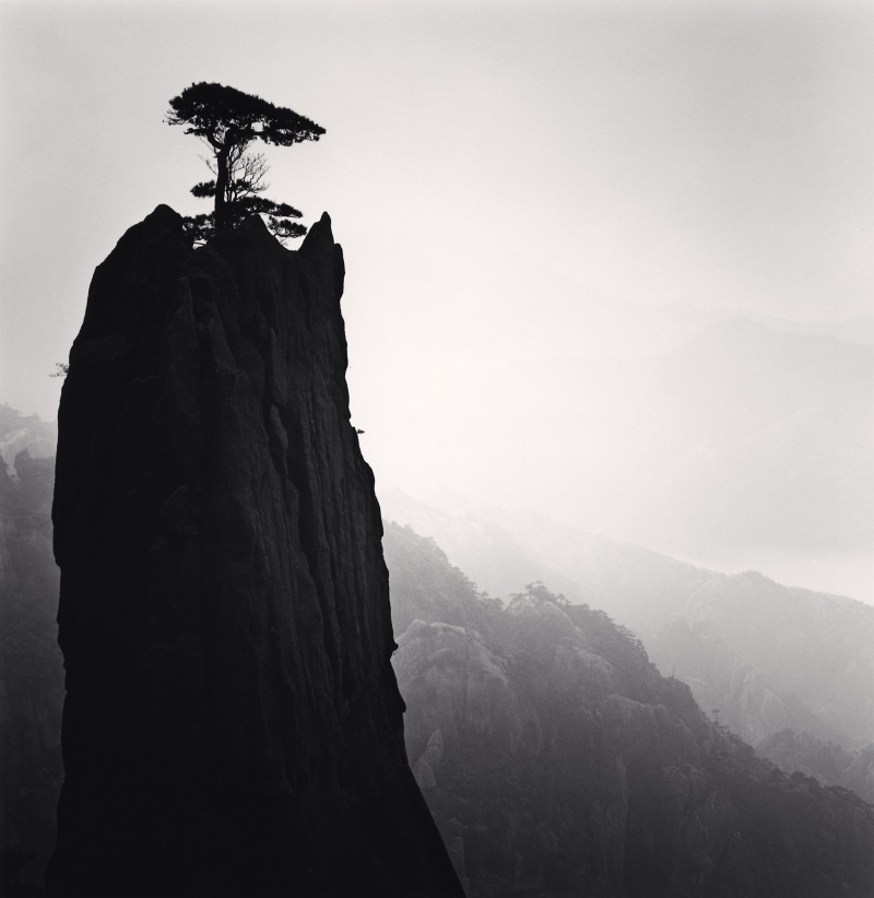 Michael Kenna, Huangshan Mountains, Study 21, Anhui, China, 2009