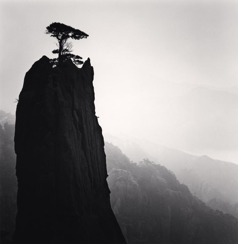 Michael Kenna, Huangshan Mountains, Study 21, Anhui, China, 2009